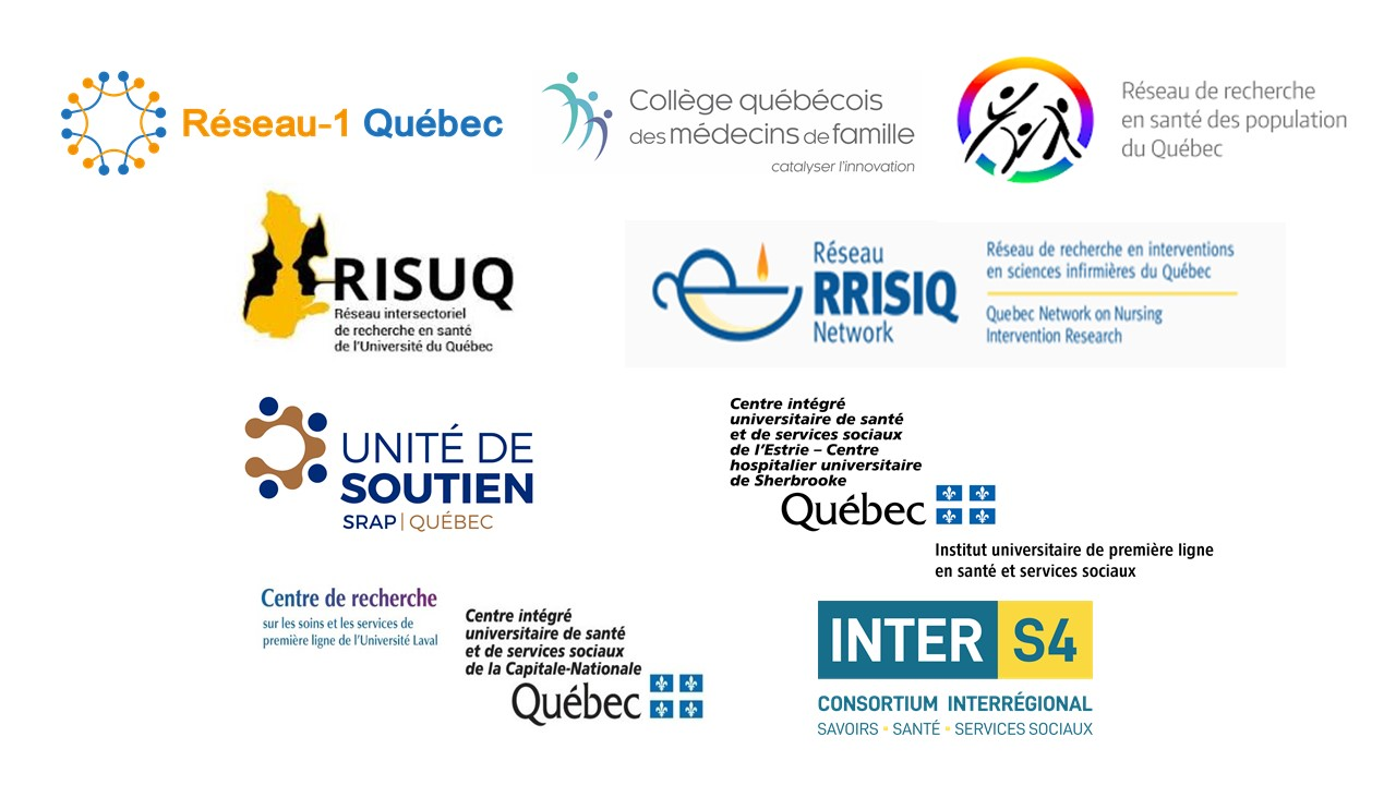 An initiative of Resau-1 Québec and the following partners: