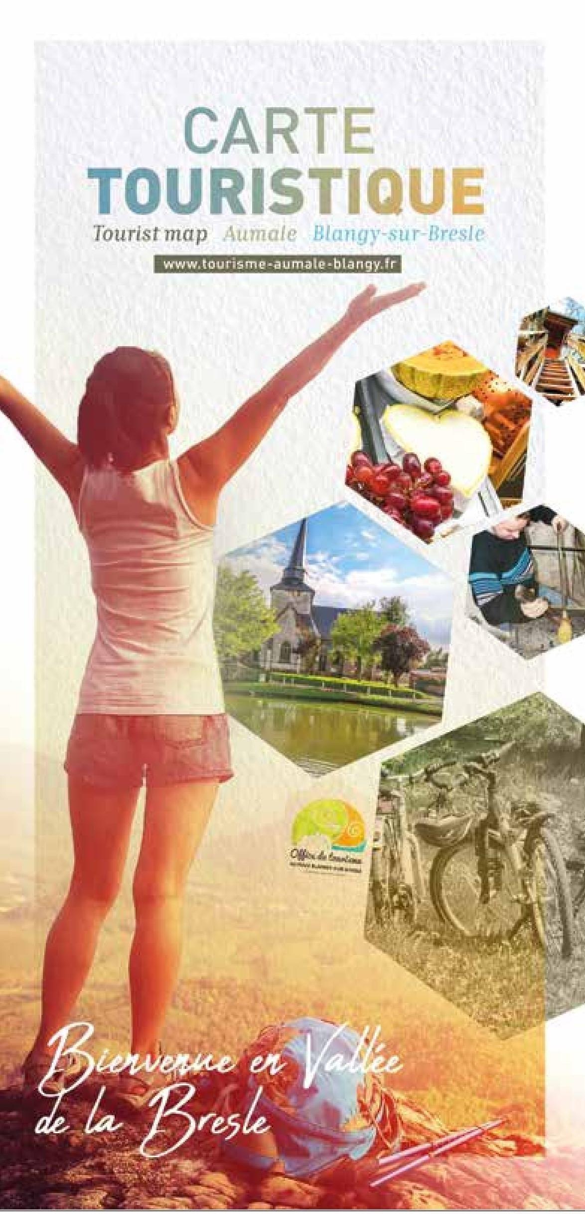Carte touristique Aumale/ Blangy