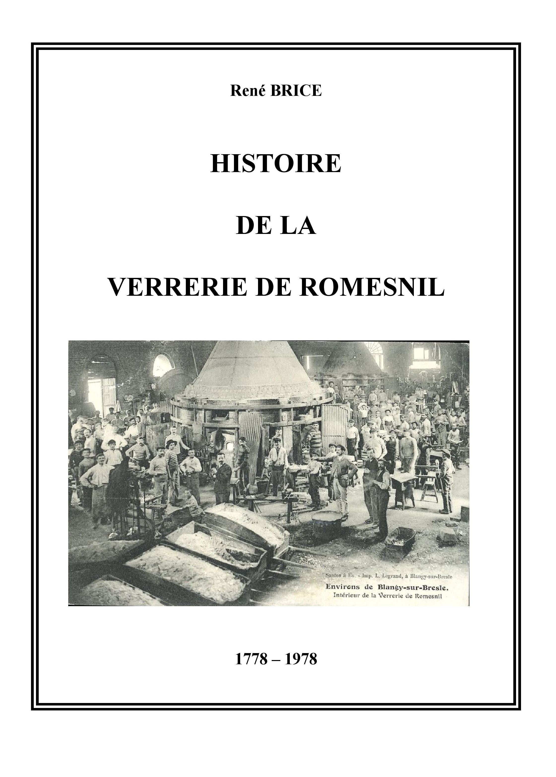 Les verreries de Romesnil - 12.00€