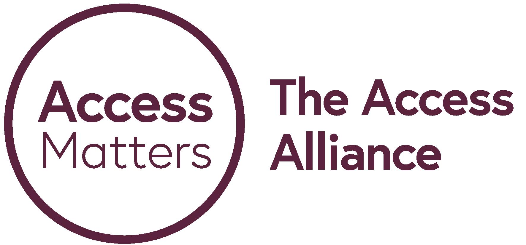 Access Matters: The Access Alliance logo