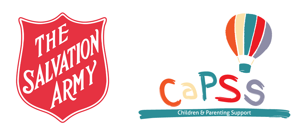 The Salvation Army and CaPSS logos