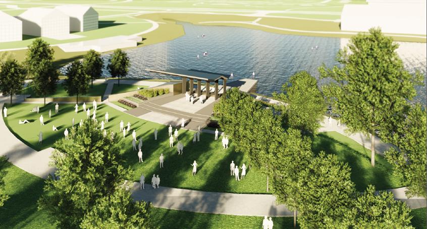 Rendering of the Jamie Hurd Amphitheater