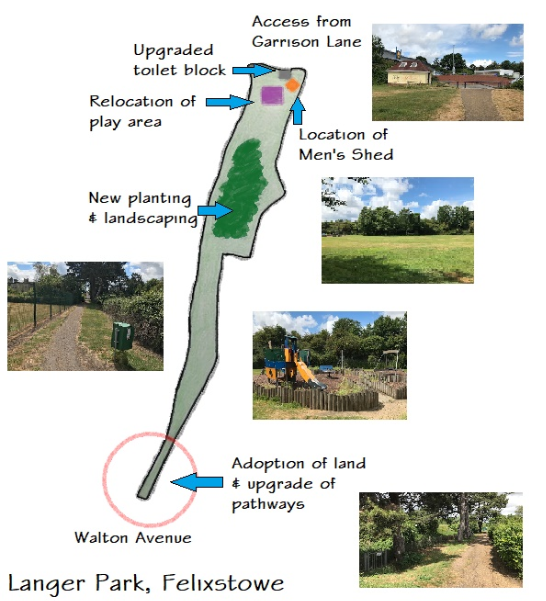 This picture depicts the plan of proposed scheme: