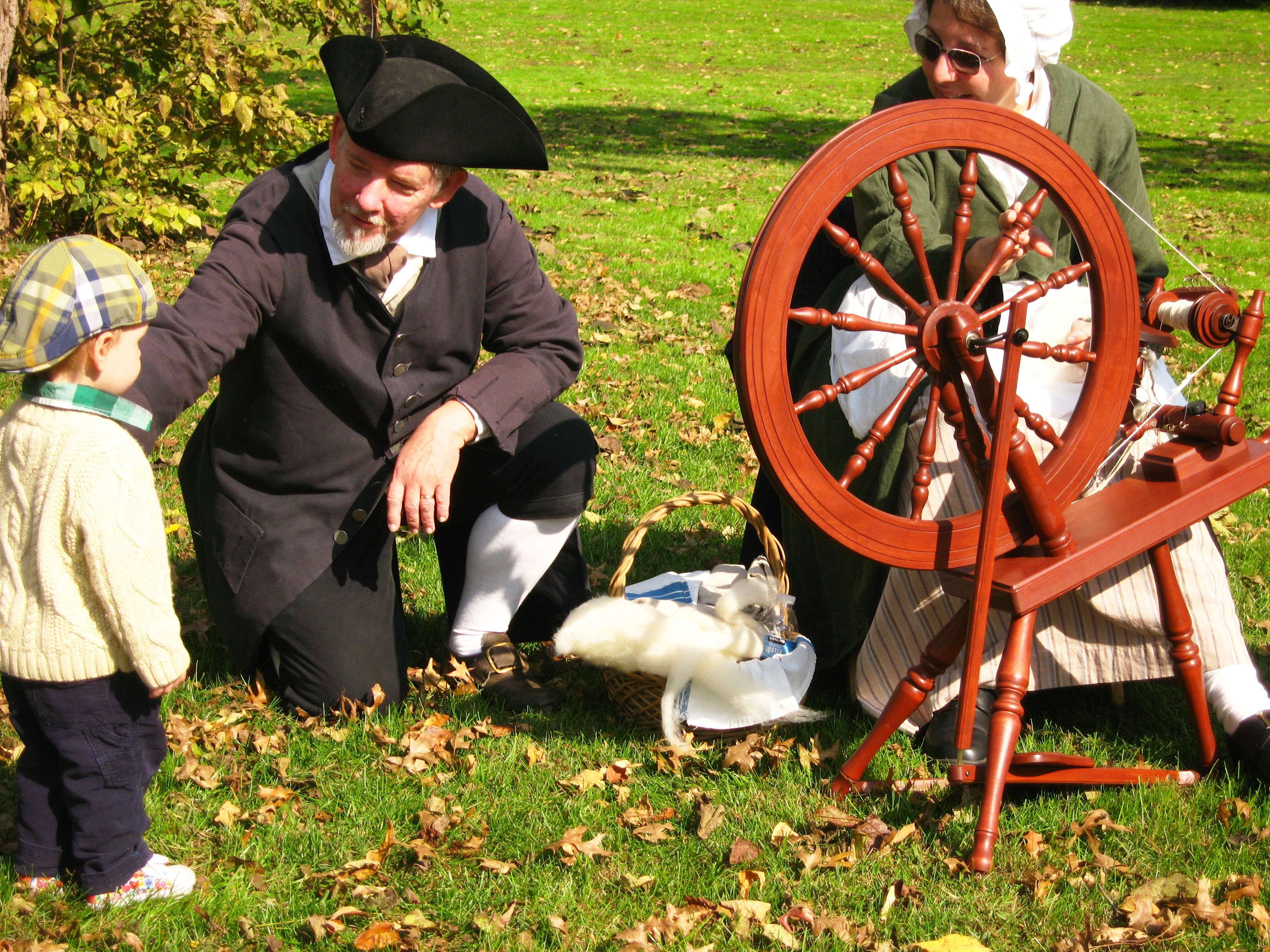Living History at the Abraham Staats House during Weekend Journey through the Past, South Bound Brook