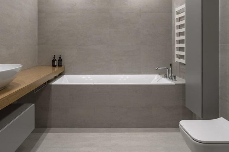 Built in bath