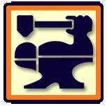 CBA Logo (Hammer Arm Anvil)
