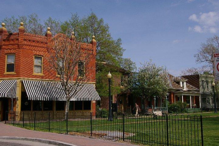 9th Street Historic Park, Auraria