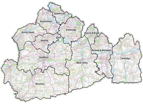 If you are unsure which borough your business is based, please consult the map