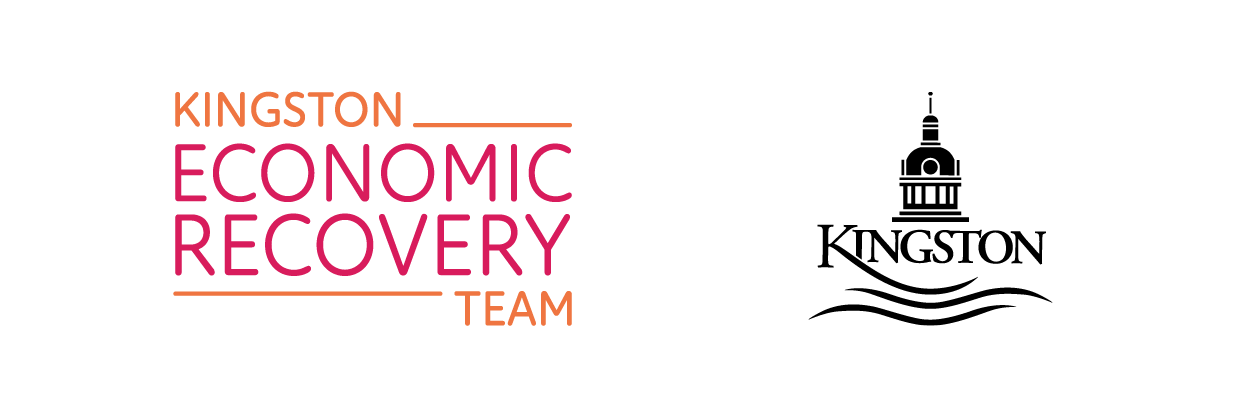 Kingston Economic Recovery Team logo beside City o