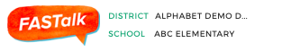 Yes, I see my DISTRICT and SCHOOL