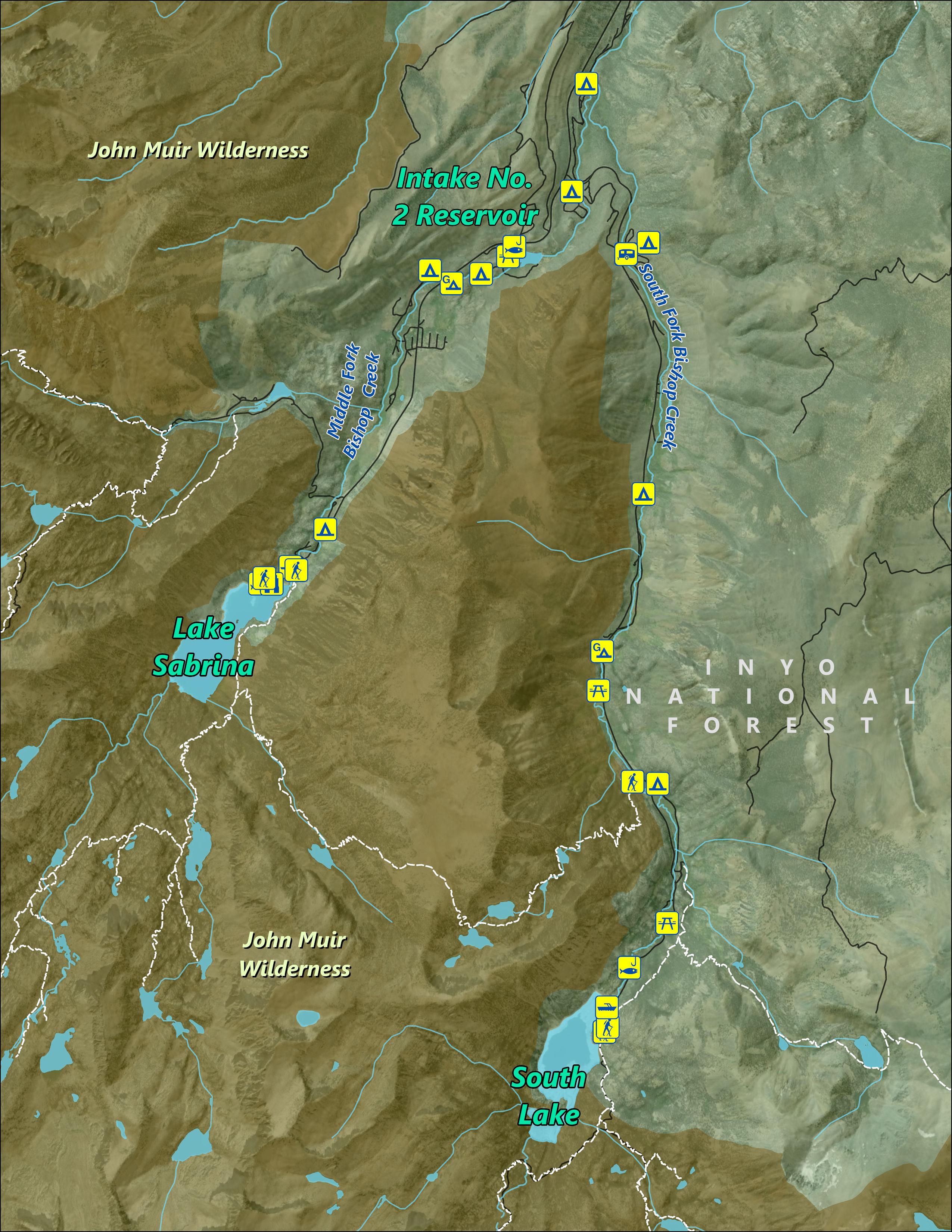 Bishop Creek Reservoirs