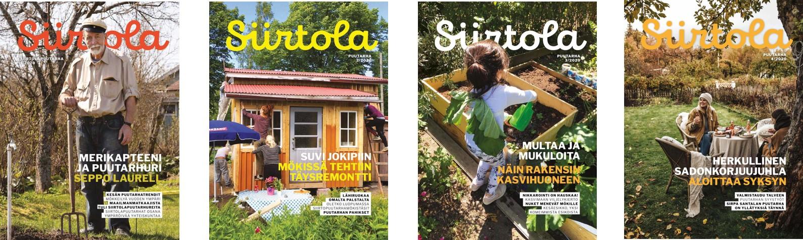 Alla näet lehden tämän vuoden kansikuvat. Toivomme sinun ottavan kantaa ensisijaisesti näihin lehtiin - kiitos.