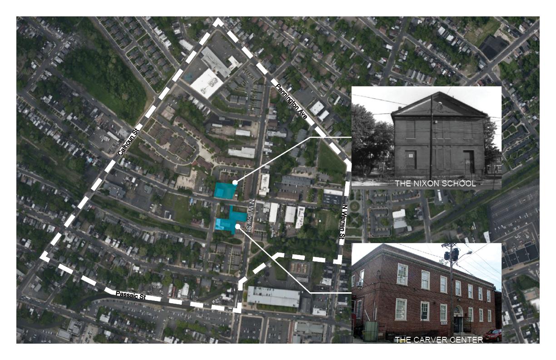 Nixon (Higbee School)/ Carver Neighborhood Map
