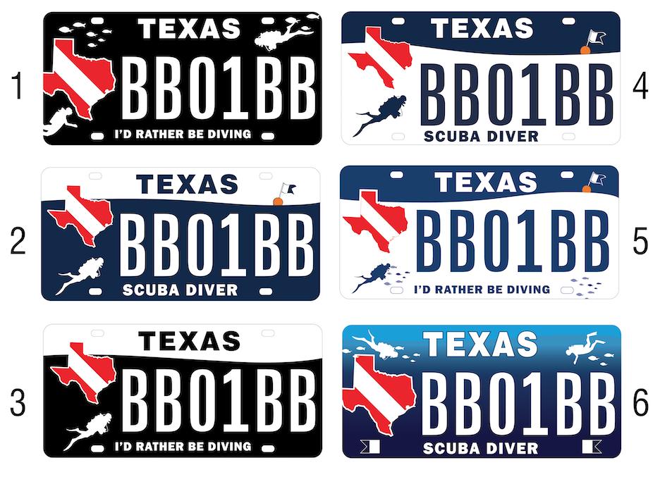 Texas Diver Plate Concepts