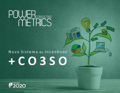 Power Metrics: Novo Sistema de Incentivos +CO3SO
