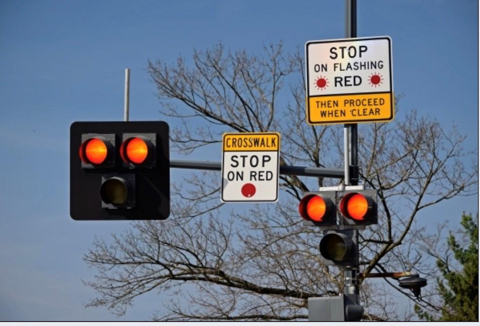 Hi-intensity pedestrian Activated WalK beacon