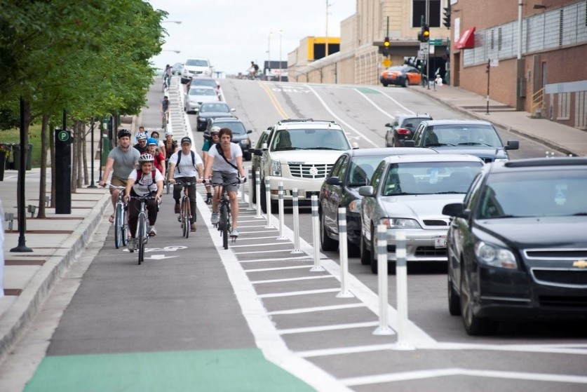 Protected Bike Path