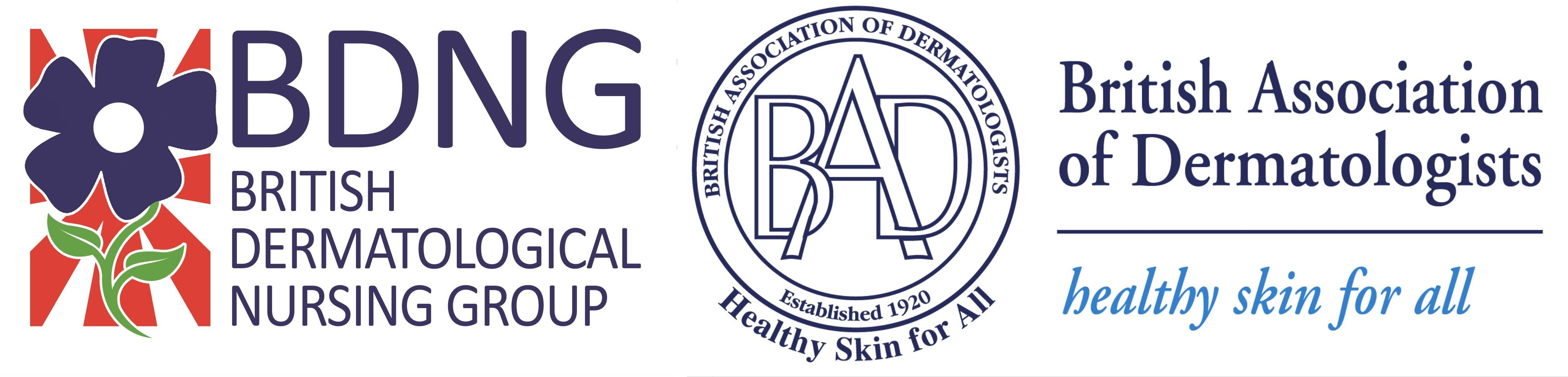 """<div style=""""text-align: center;"""">This survey has been designed by the British Dermatological Nursing Group (BDNG) as part of the British Association of Dermatologist (BAD) EducationBoard Nursing Workstream.</div>"""