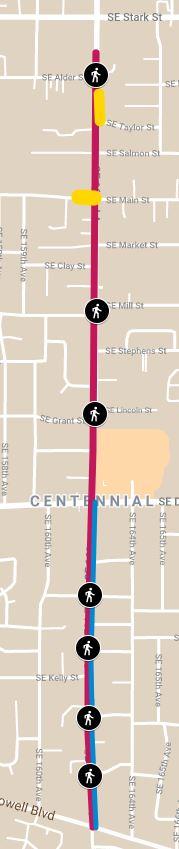 "<span style=""font-size: 14pt;""><strong>Mapa del área del proyecto de SE 162nd Ave</strong></span>"