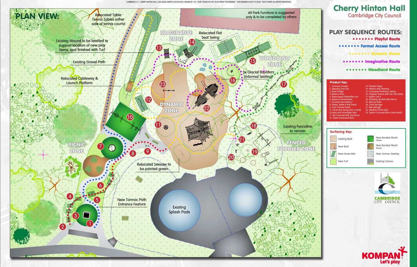 Play Area Layout