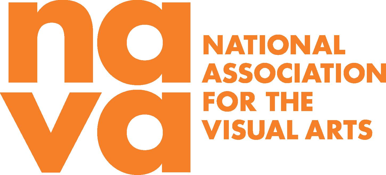 Full NAVA logo in orange. Large lowercase na at th