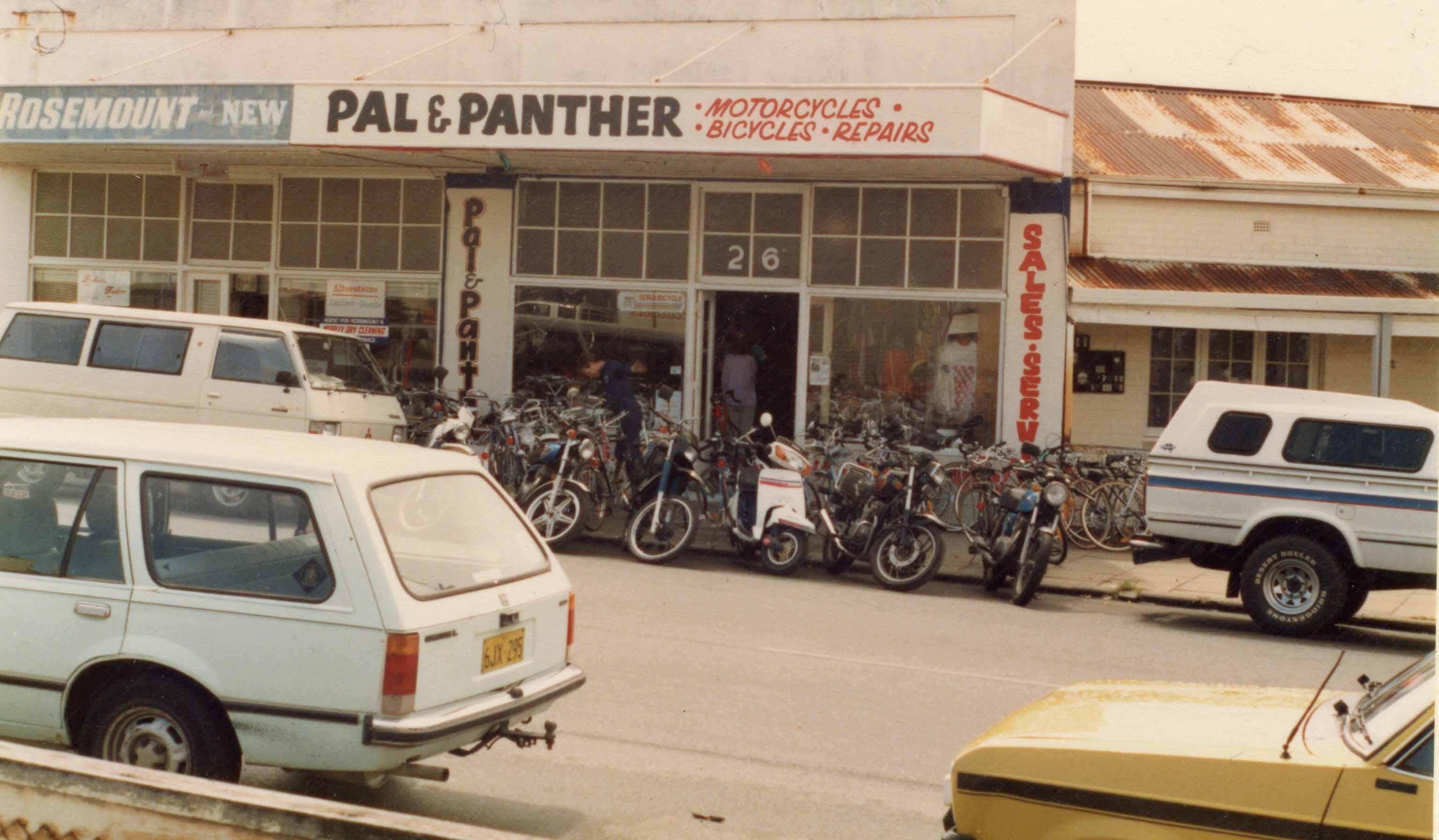 152. Pan & Panther Angove Street