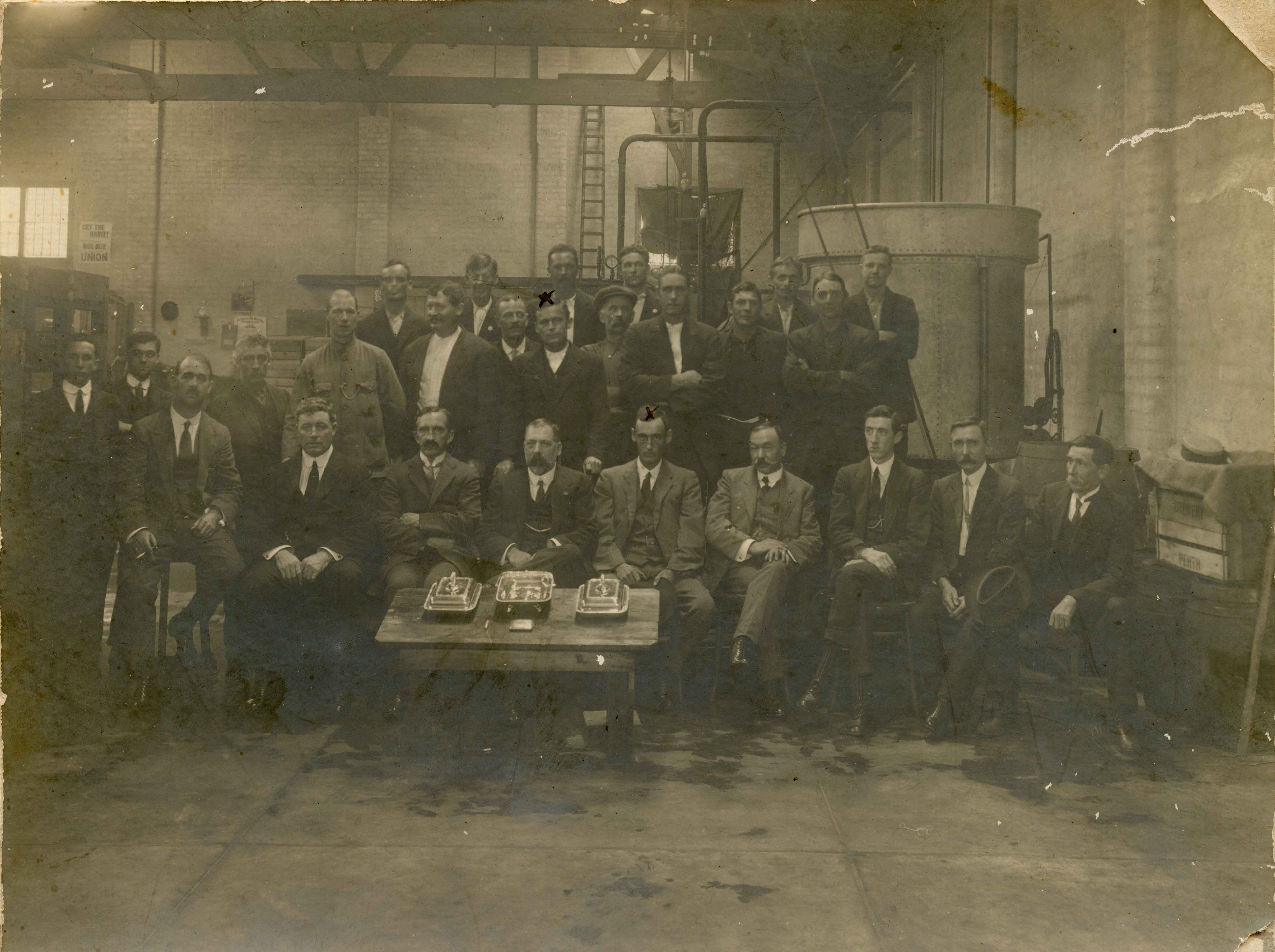 74. Union Brewery Perth, 1917