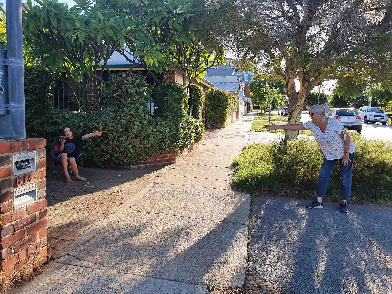80. Social distancing North Perth