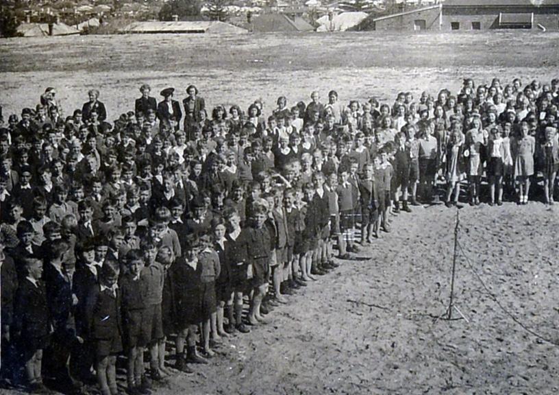 144. Goonderup Oval N Perth, 1944