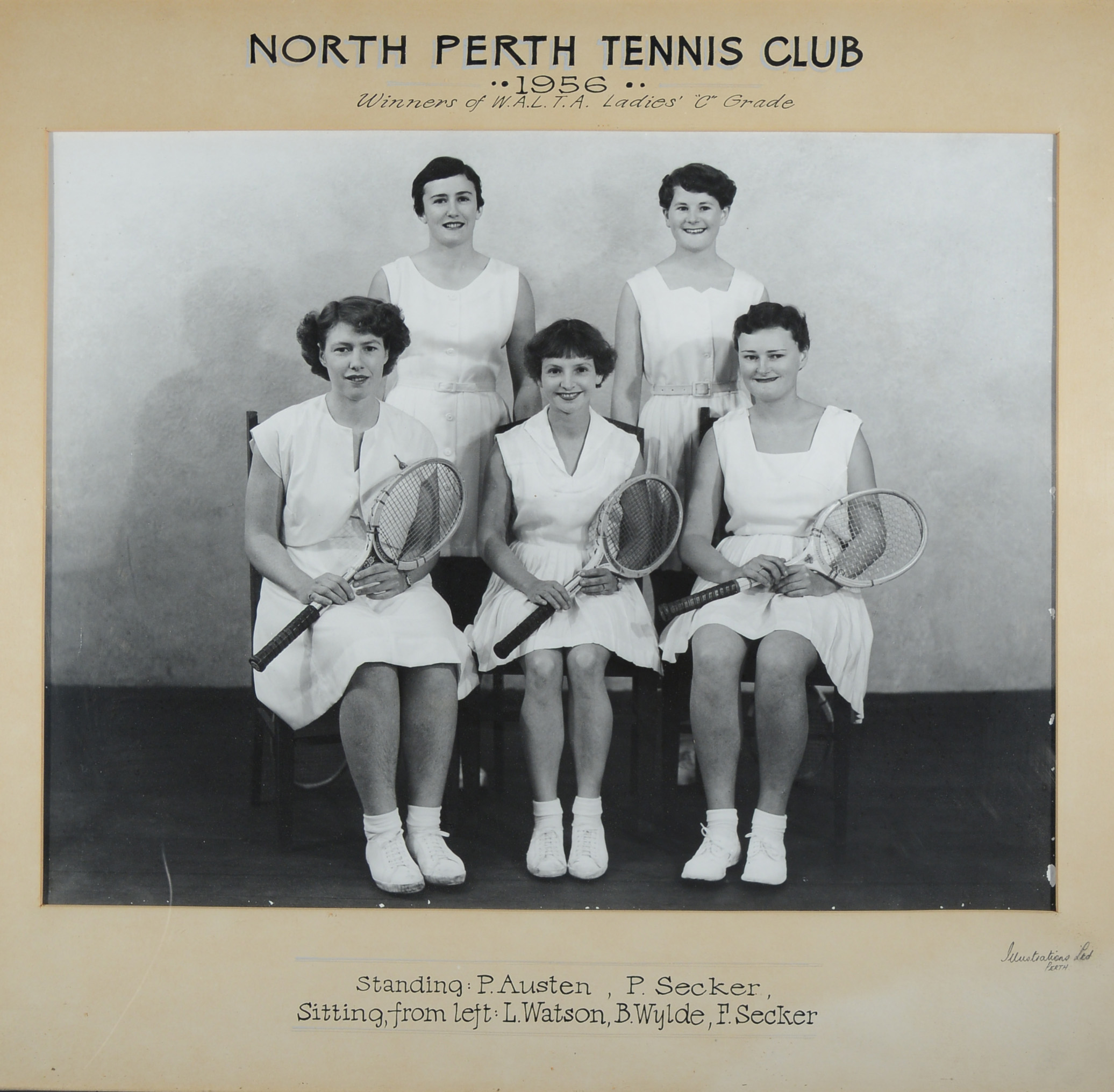150. North Perth Tennis Club, 1956