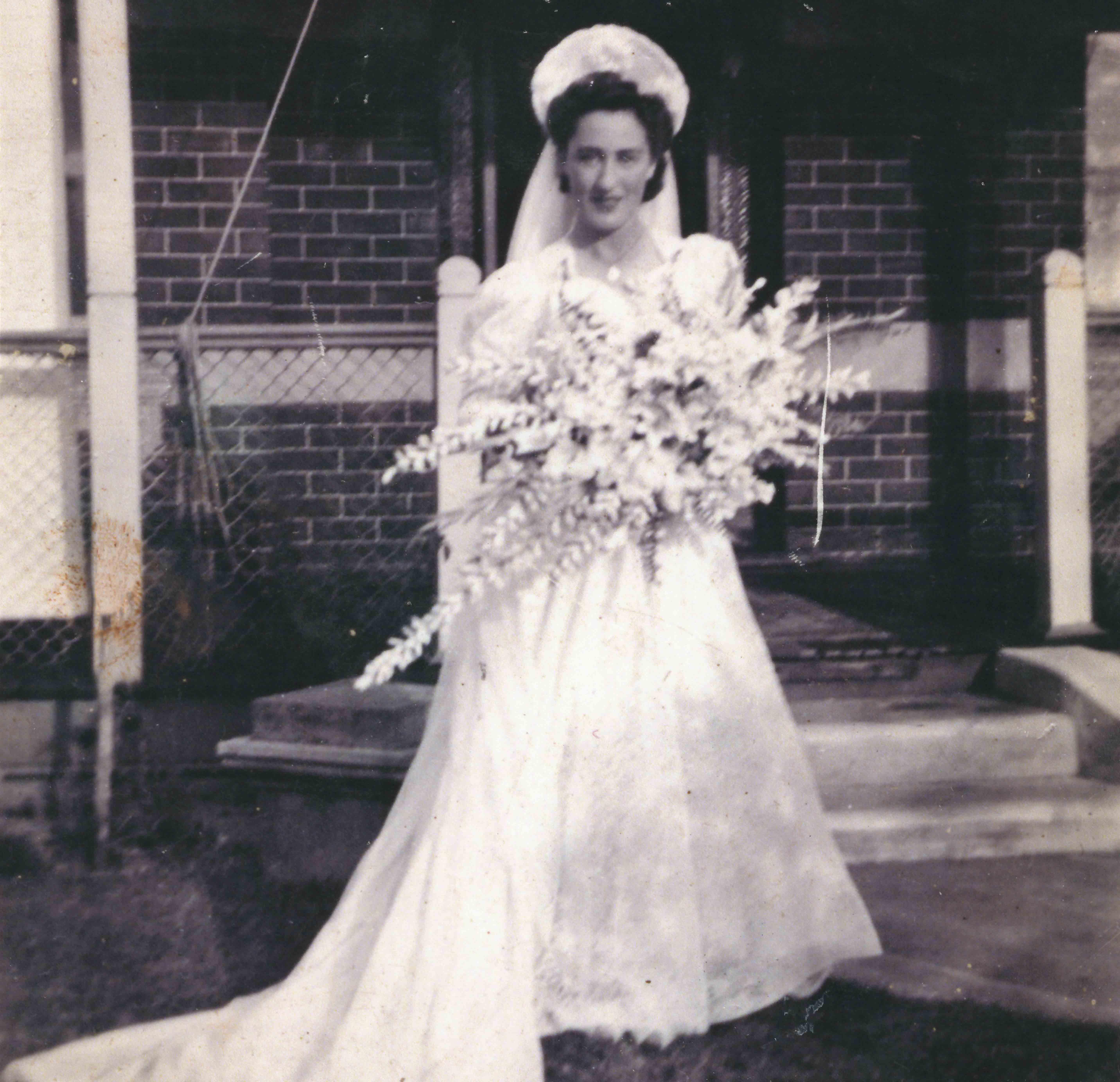 10. Bride Marjorie Porter, 1945