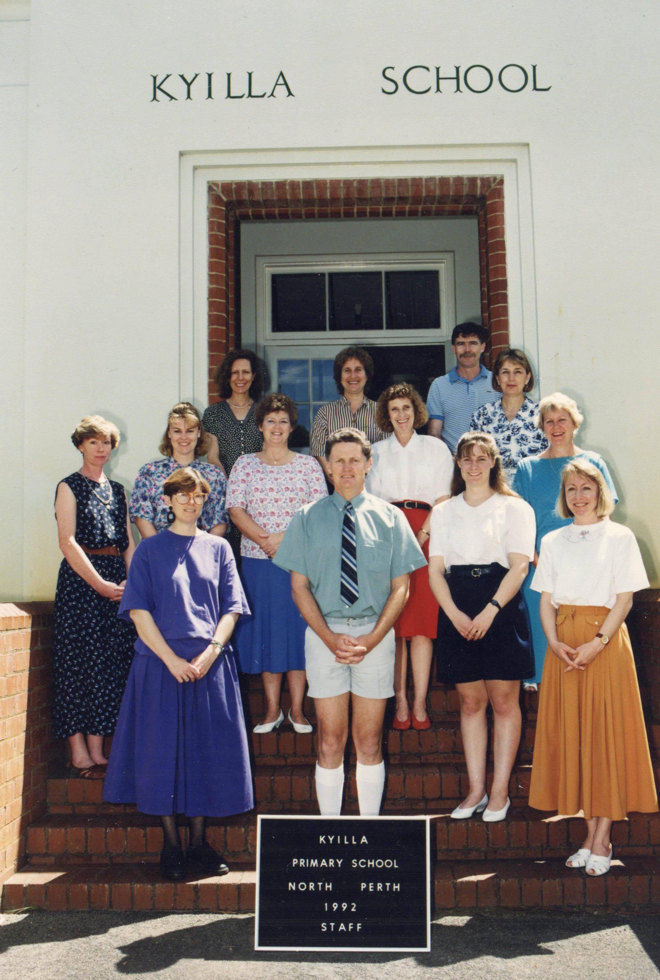 97. Kyilla Primary staff, 1992