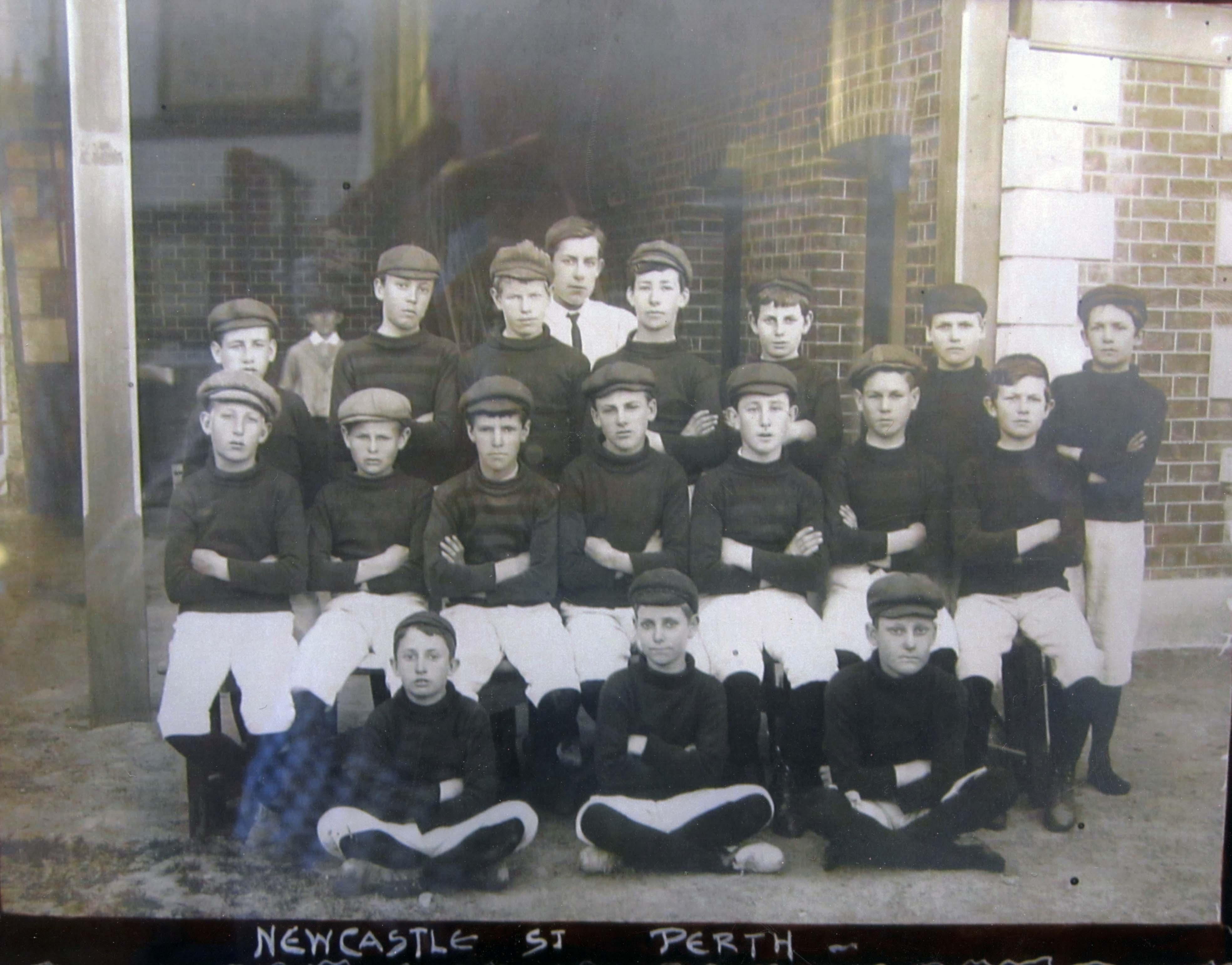 106. Newcastle St Football Team, nd