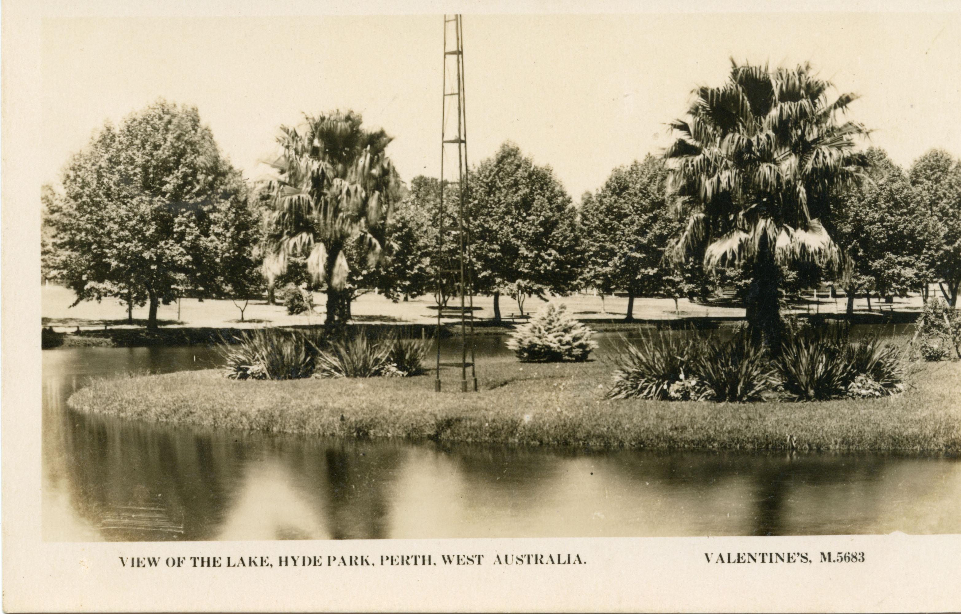 120. Hyde Park c 1920