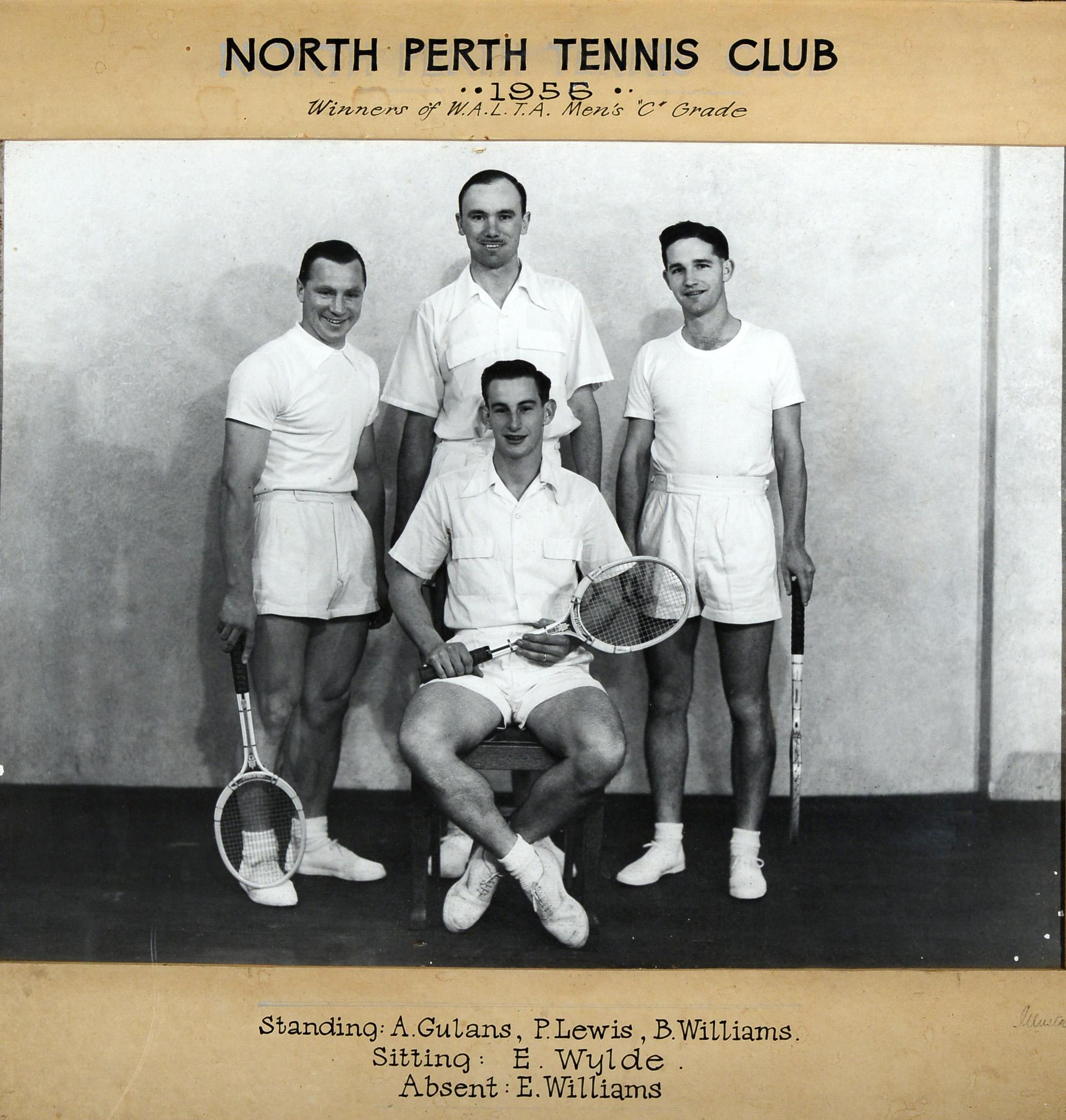 149. North Perth Tennis Club, 1955