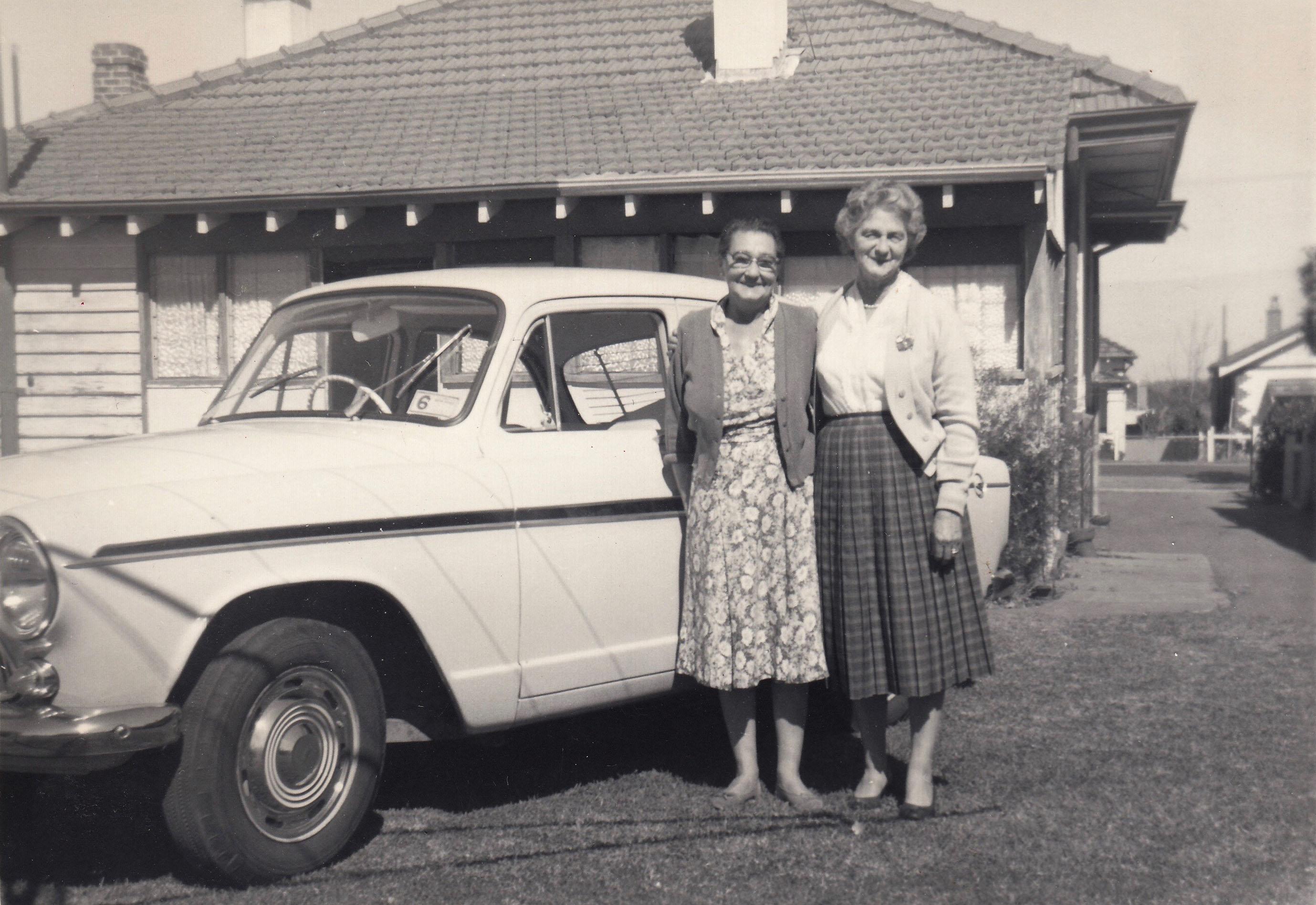 63. Backyard 78 Kalgoorlie St, 1960