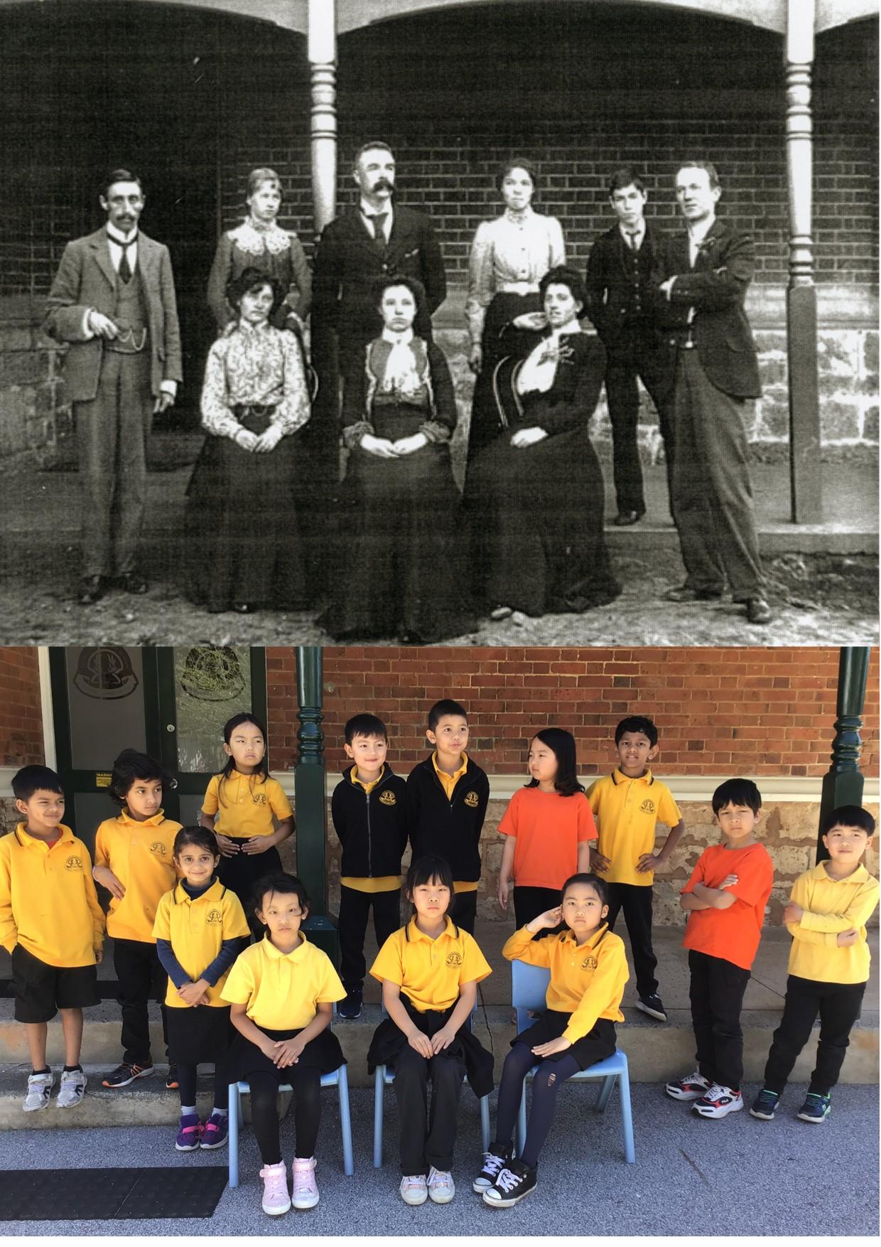 60. Highgate primary 1896 & 2020