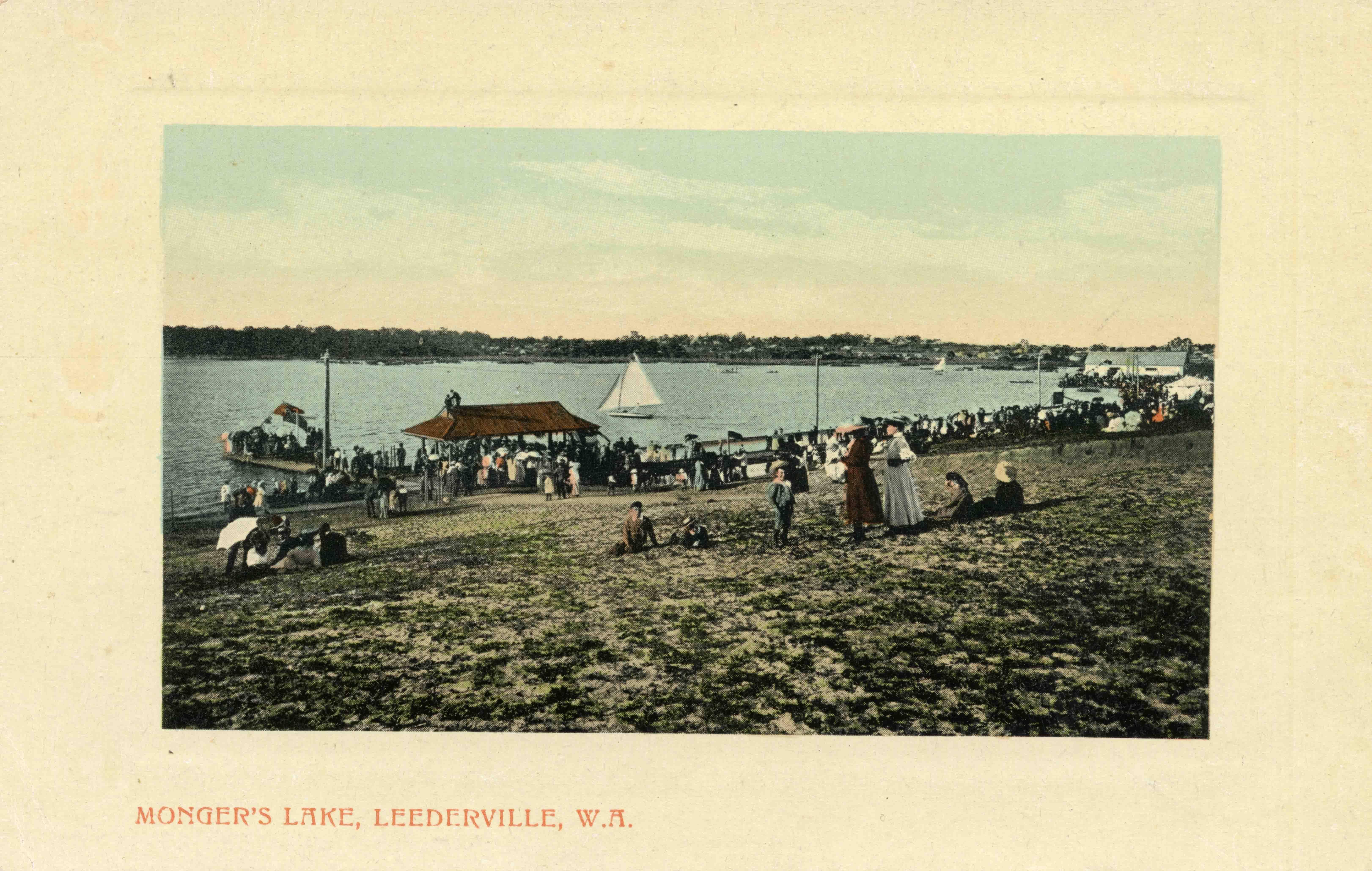 123. Lake Monger c 1910