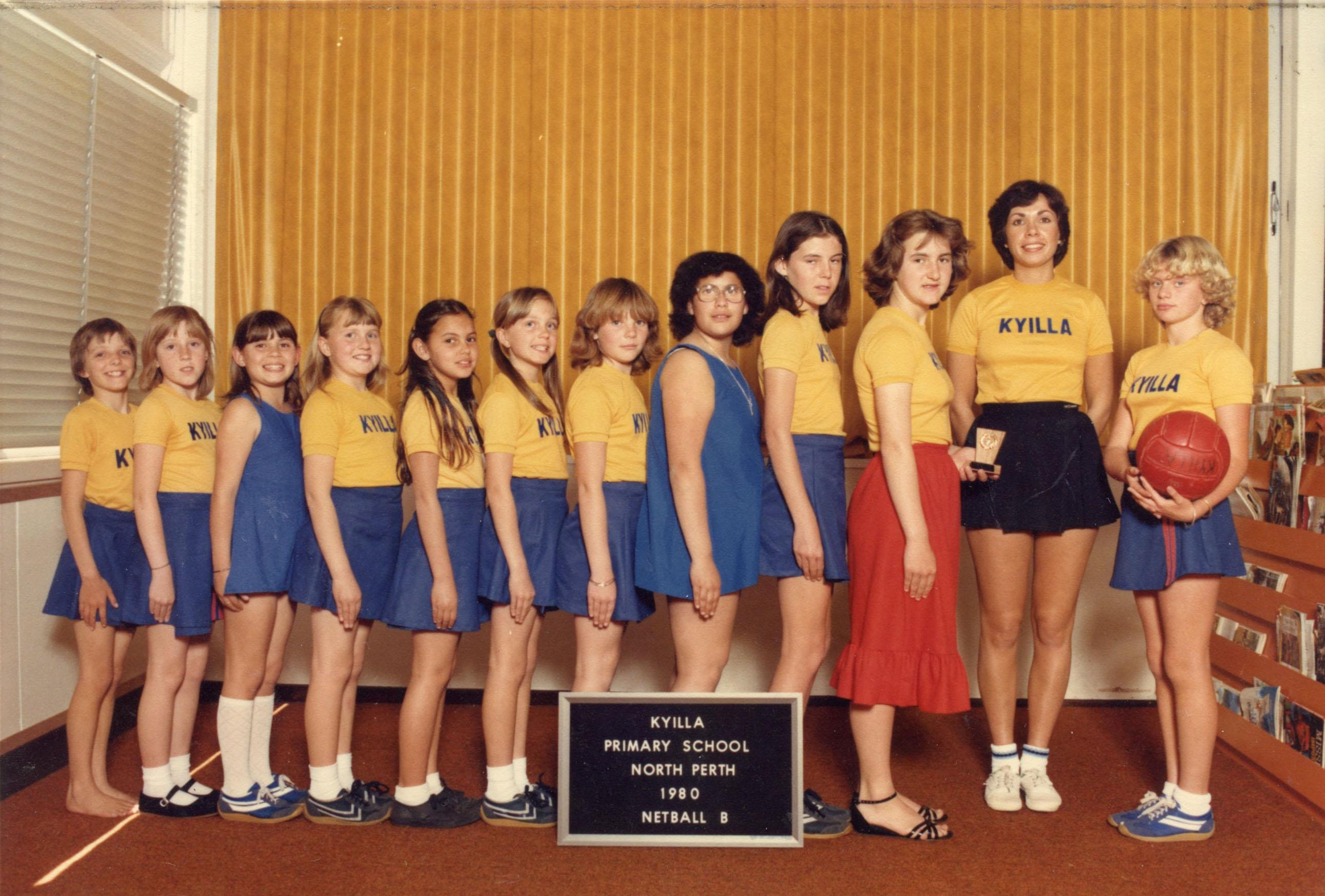 92. Kyilla netball team, 1980