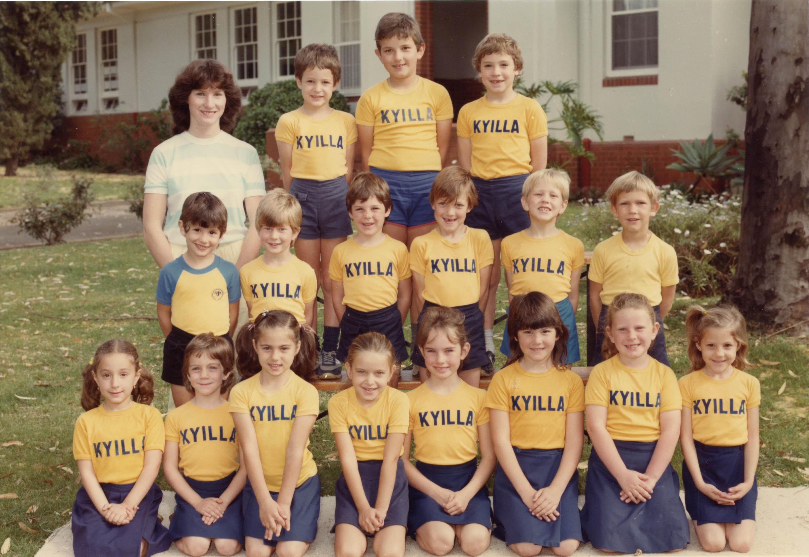 94. Grade 1 Kyilla Primary, 1985