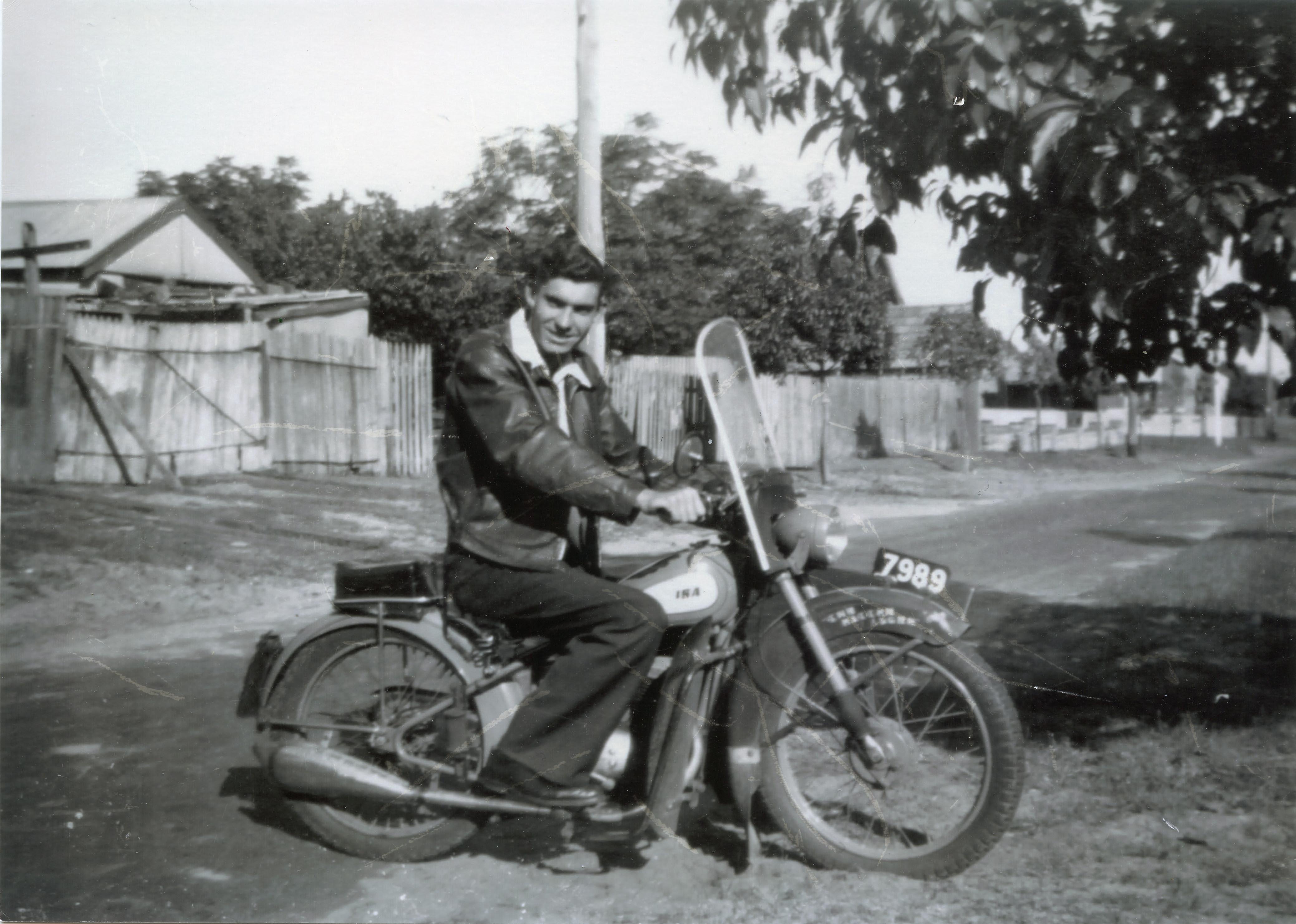 23. George Long at 7 Peach St, 1950
