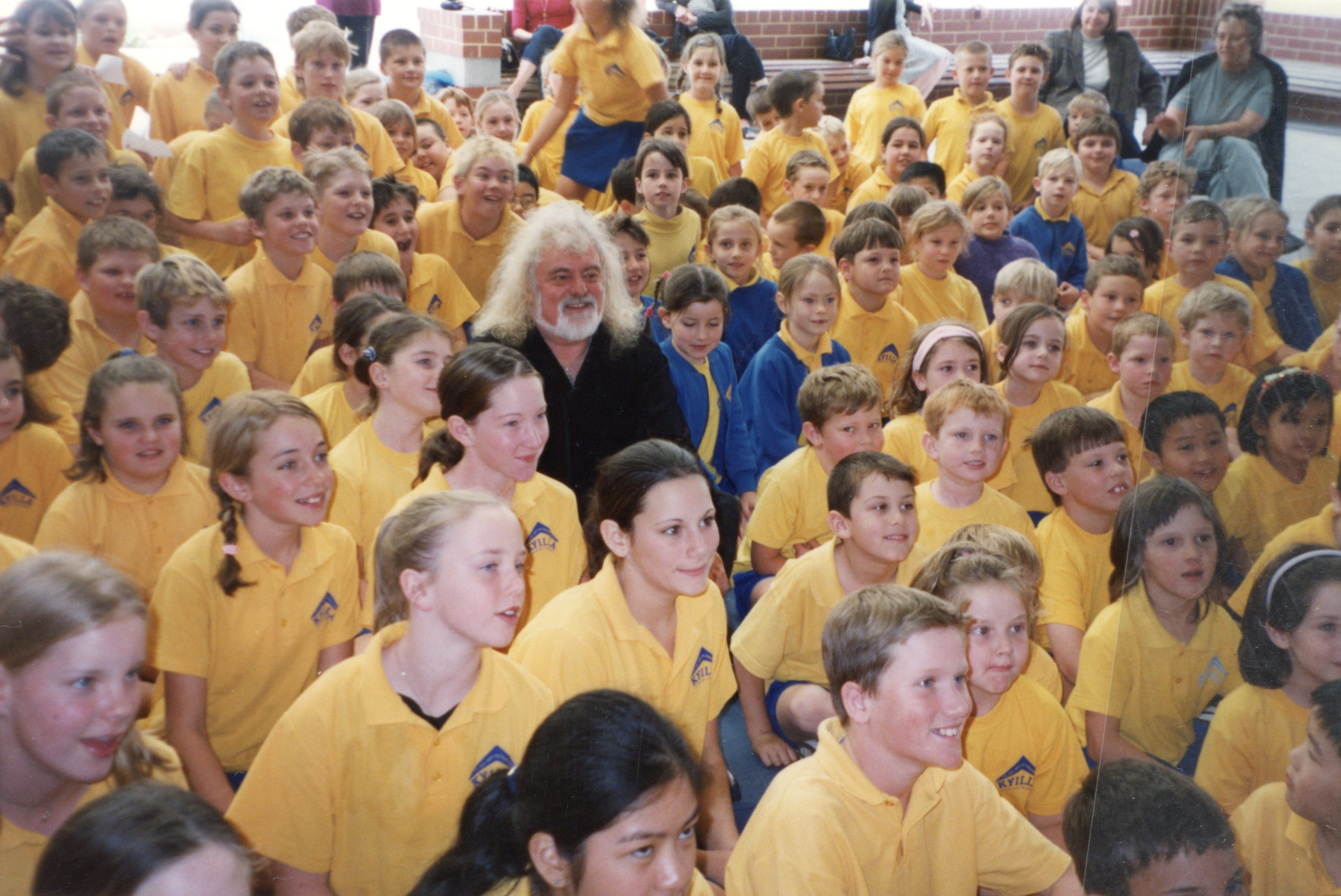 98. Brian Cadd visits Kyilla, 2001