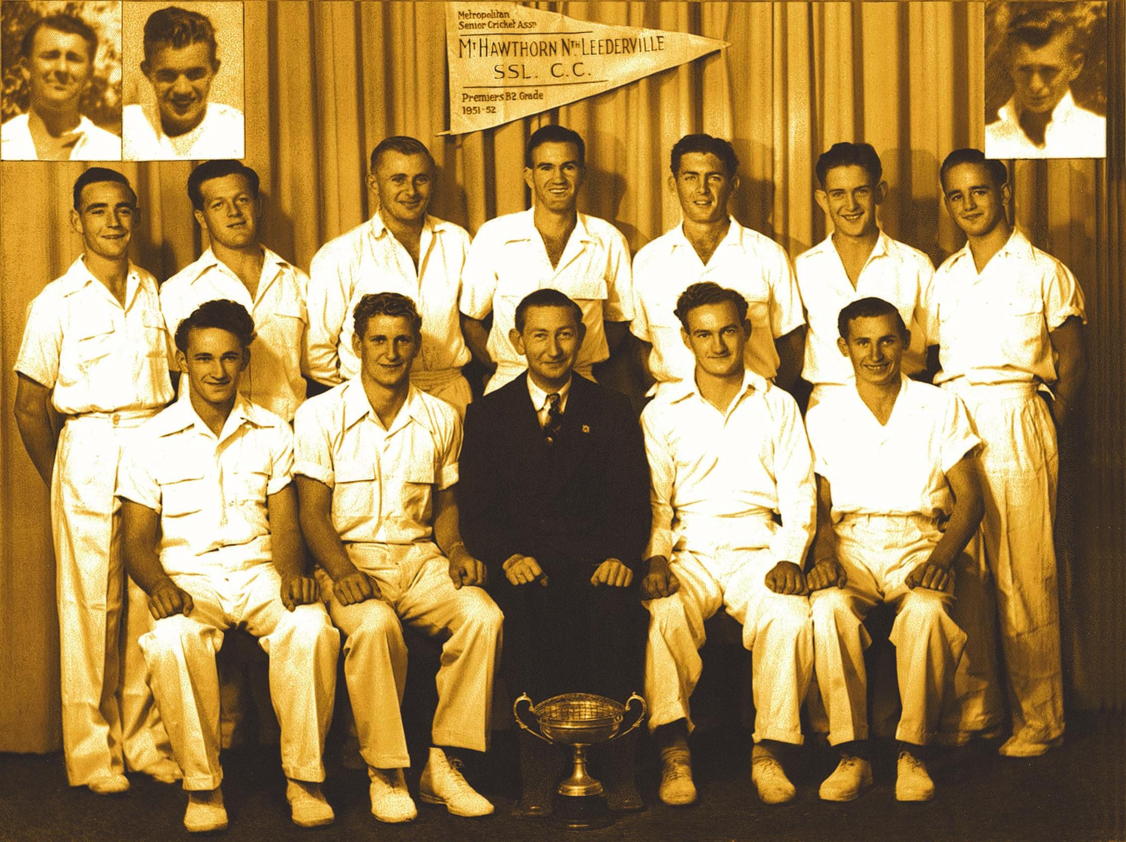 100. Leederville Cricket Club, 1951