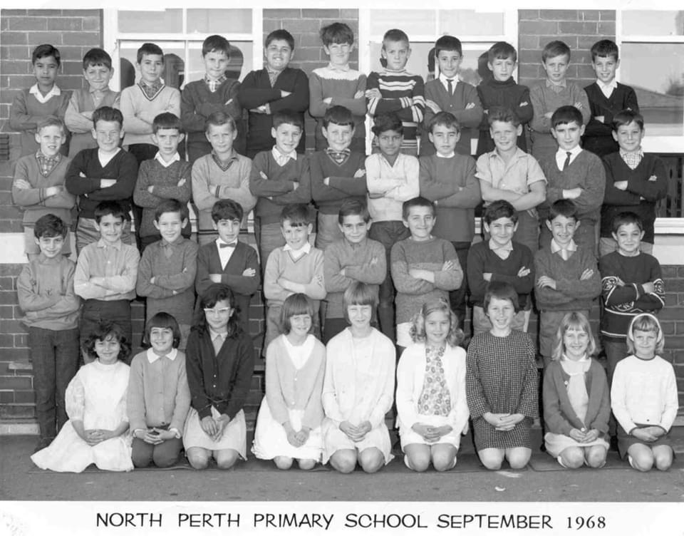 56. Gr 6 North Perth School, 1968