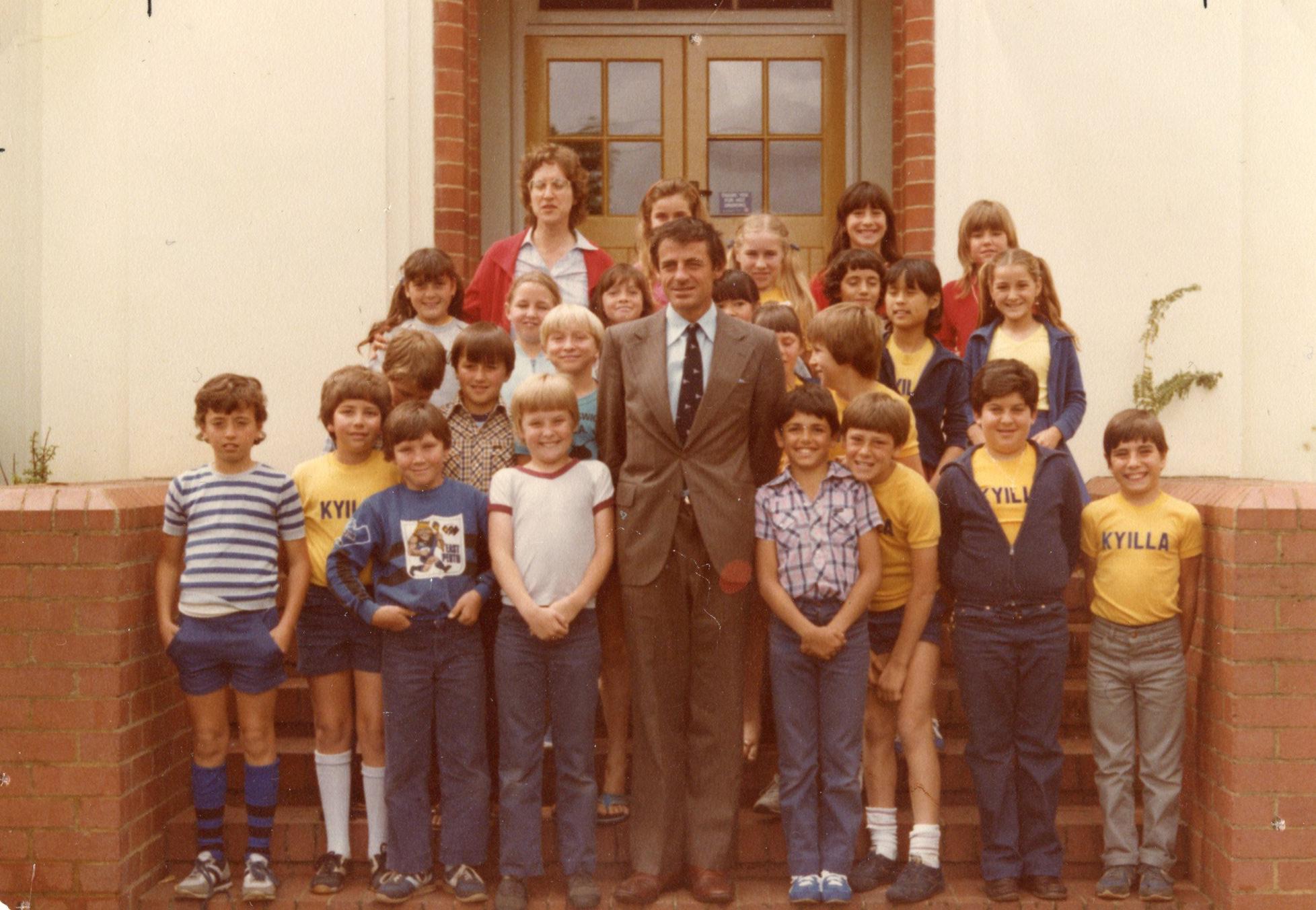 93. Jon Sanders at Kyilla, 1983