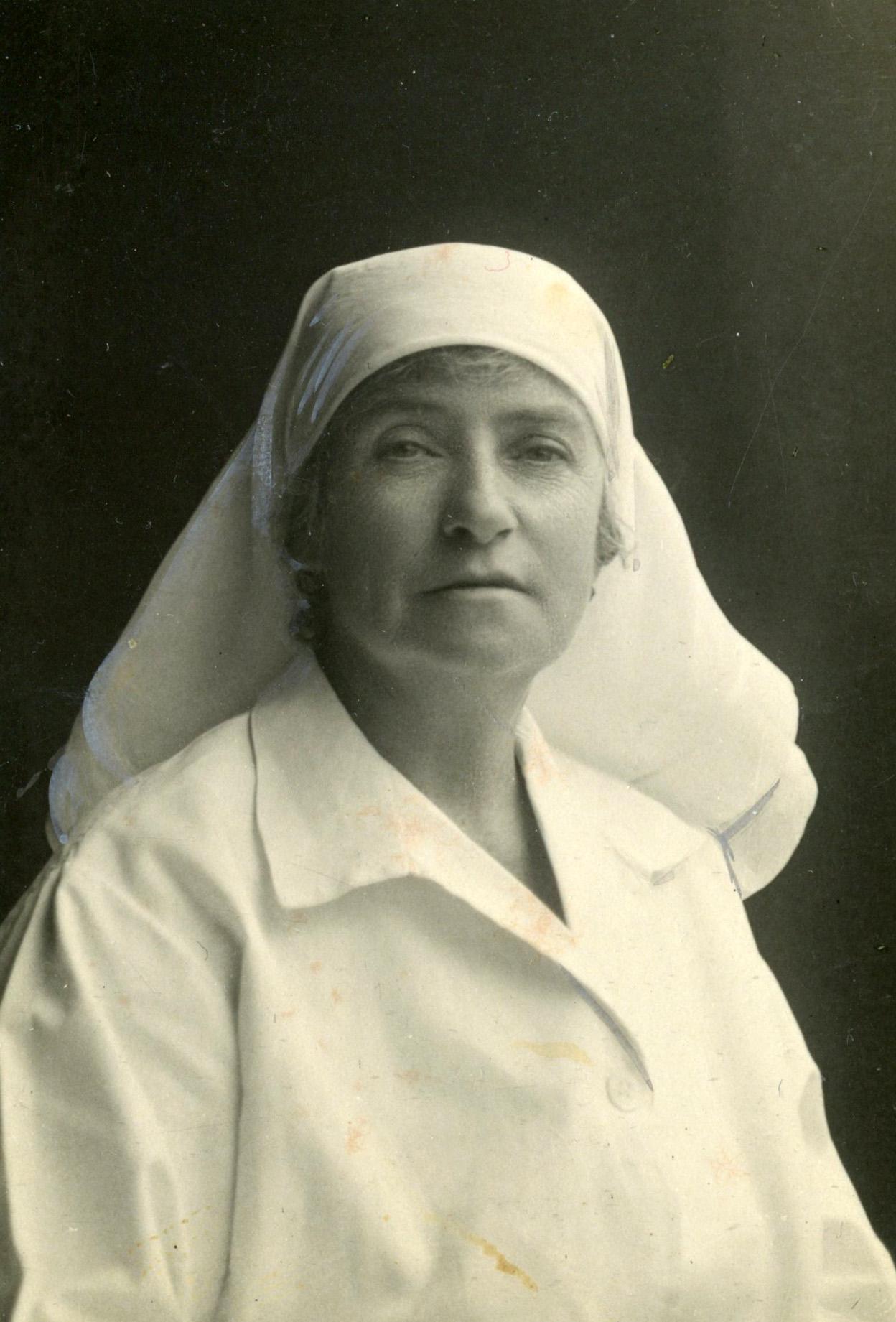 34. Nurse Stockley, c 1930