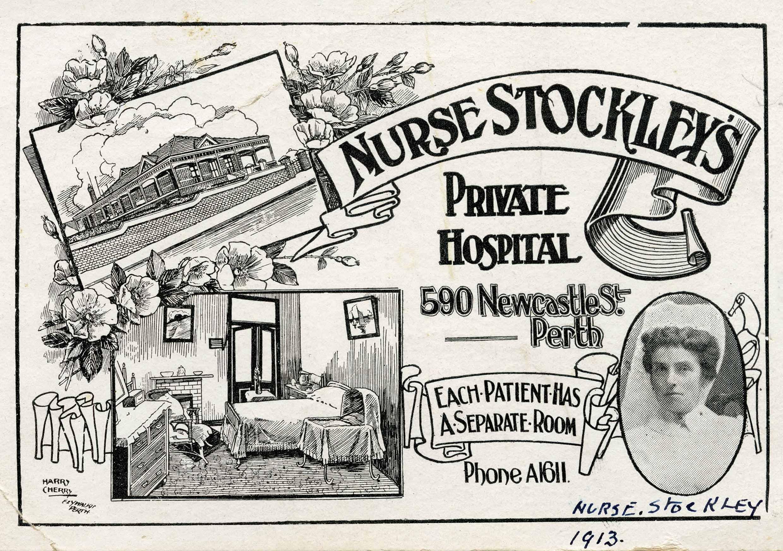35. Nurse Stockley's Hospital, 1913