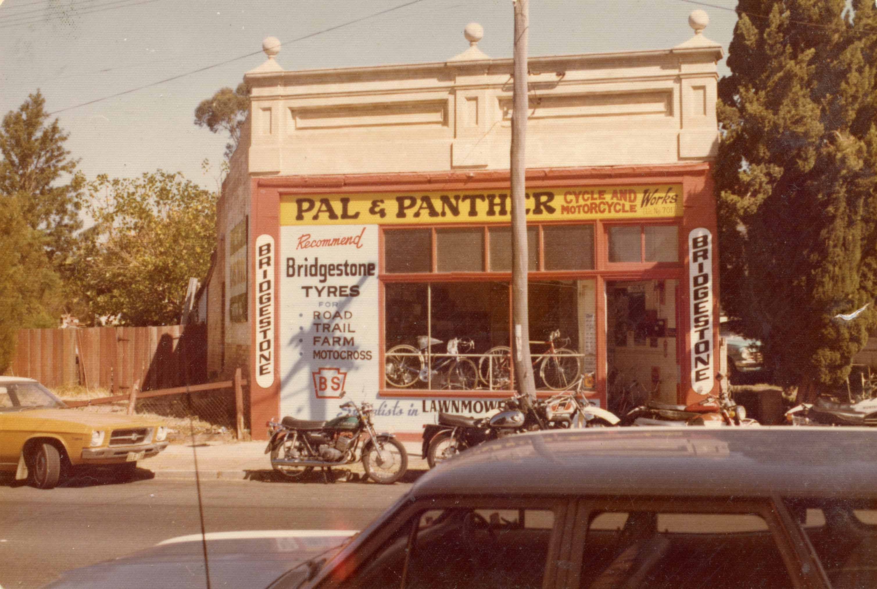 153. Pal & Panther, late 1970s