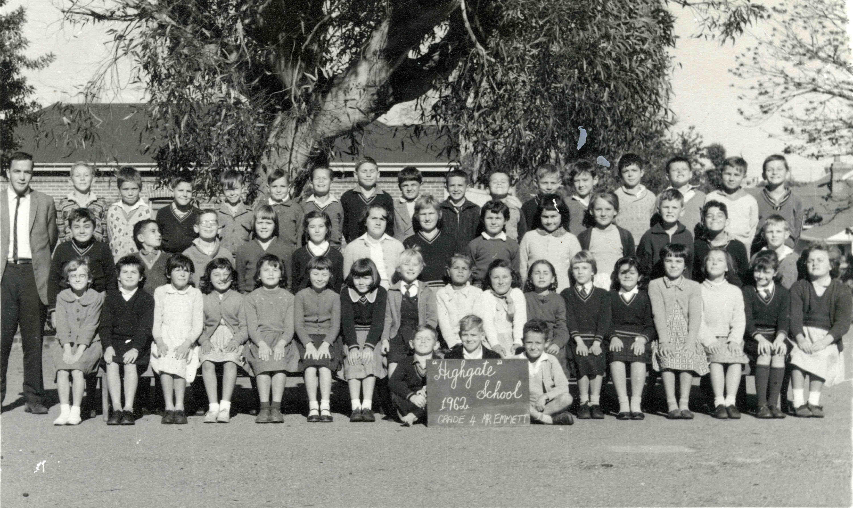 164. Grade 4 Highgate Primary, 1962