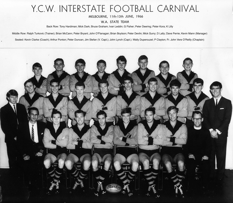 186. YCW Football Team 1966